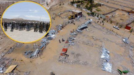 Arequipa: Municipalidad provincial recupera 8 mil m2 de invasores en Cono Norte