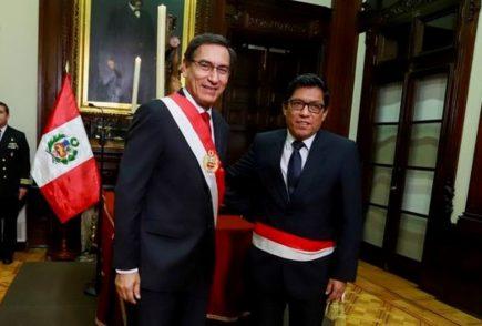 """Primer ministro: """"No habrá elecciones presidenciales, Vizcarra no renunció"""""""