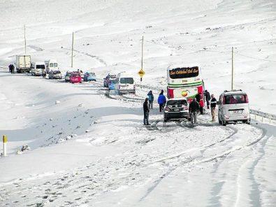 Arequipa: Senamhi pronostica lluvias y nevadas hasta el miércoles