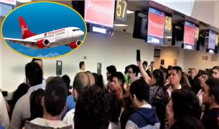 Incertidumbre en aeropuerto por cancelación de vuelos Peruvian debido a embargo