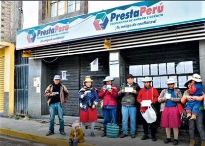 PrestaPerú: 30 exdirectivos denunciados por ahorristas, tras quiebra de cooperativa