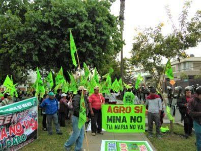 Tía María: 100 días de protestas en el valle de Tambo