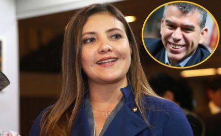 Exgobernadora Yamila Osorio en coqueteos con Julio Guzmán