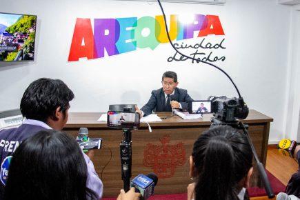 Arequipa: Comisión de Festejos recaudó 15 mil soles por el aniversario