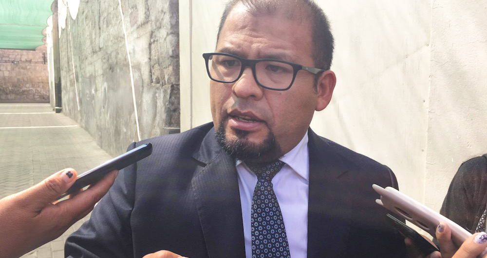 Arequipa Omar Candia Aguilar alcalde funcionarios contraloría