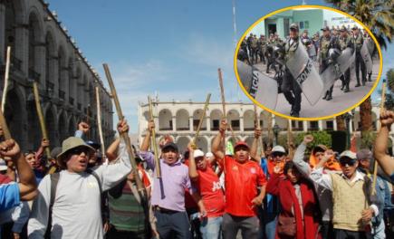 Ladrillo del Sur: Policía en alerta máxima tras detención de dirigentes