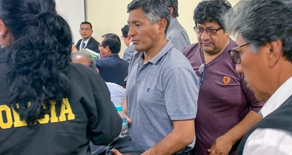 Arequipa Ladrillo Sindical del Sur audiencia Andrés Saya y José Luis Chapa