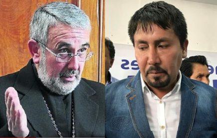 Arzobispo invita a Cáceres Llica para dialogar sobre sus actos en La Joya