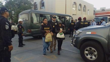 Los Correcaminos del Sur: piden 36 meses de prisión para coronel PNP y 14 detenidos