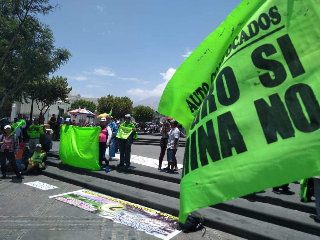 Tía María: Pobladores del Valle de Tambo y gremios evalúan paro indefinido - El Búho - Arequipa