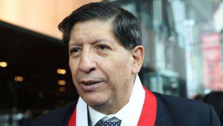 Carlos Ramos desde Arequipa: no es competencia de fiscal Pérez pedir nulidad de fallo TC