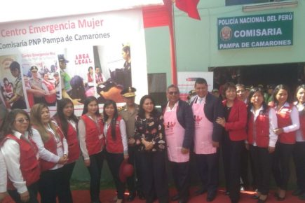 Arequipa: Inauguran Centros Emergencia Mujer en Sachaca y Miraflores