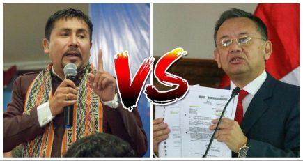 Edgar Alarcón amenaza con denunciar a gobernador de Arequipa si no se rectifica
