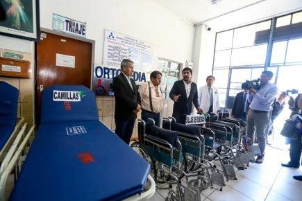 Arequipa: entregan equipos médicos al Honorio Delgado por más de S/ 5 millones