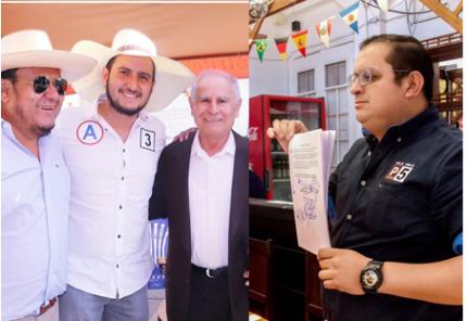 Elecciones 2020: Acusan a hijo del alcalde de Cerro Colorado por pintas