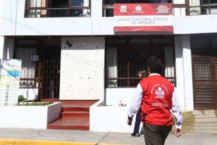 Elecciones 2020: Se instala Jurado Electoral Especial de Arequipa