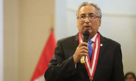 """Vinculan al presidente del Poder Judicial a """"Los Cuellos Blancos"""""""