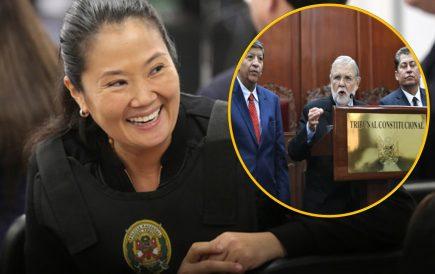 Keiko Fujimori: Tribunal Constitucional acogió Habeas Corpus y ordena su libertad