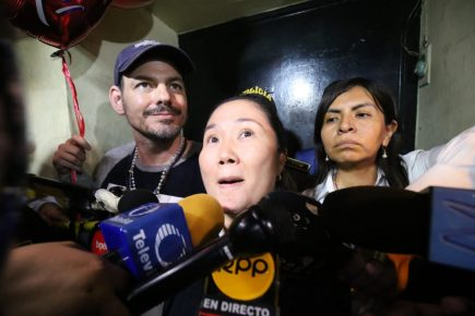 Keiko Fujimori salió en libertad después de 415 días gracias a fallo del TC