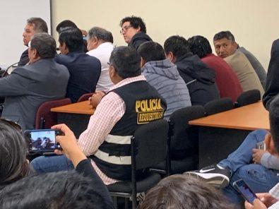 Ladrillo Sindical del Sur: fiscalía sustenta este martes prisión para funcionarios