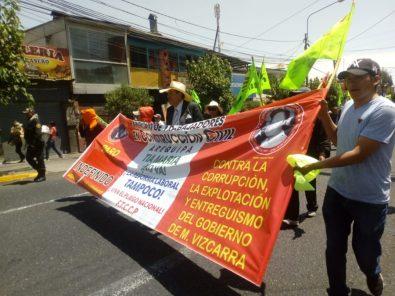 Tía María: programan marcha para el 12 de noviembre en el Cono Norte