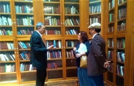 Nobel Pamuk sobre Biblioteca Regional MVLL: es un «tesoro invaluable e histórico»