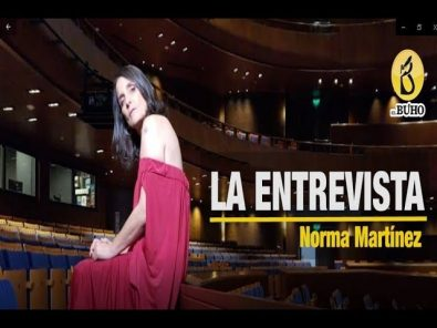 Norma Martínez: «Es un privilegio ser un artista»