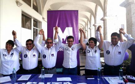 Elecciones 2020: Partido Morado presenta candidatos sin pasado político