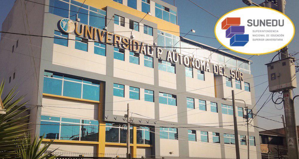 arequipa universidad privada autónoma de la salud sunedu licenciamiento
