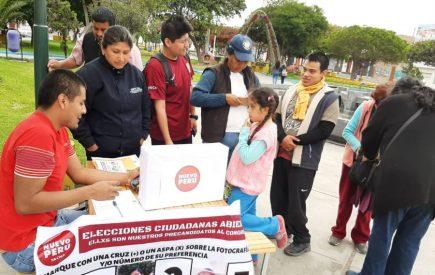 Elecciones 2020: Juntos por el Perú y Frente Amplio presentan candidatos