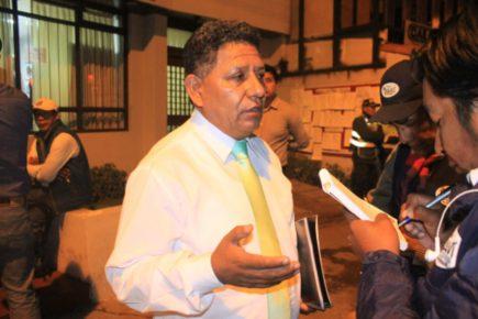 Ricardo Medina advierte financiamiento del GRA a candidatos de RUNA