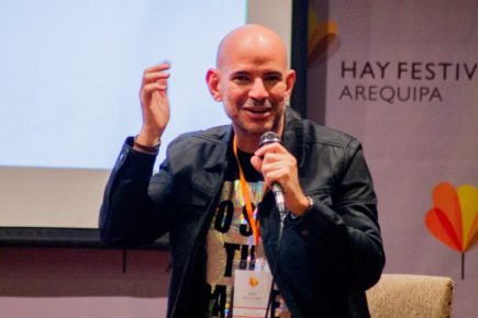 Hay Festival: Ricardo Morán nos cuenta su experiencia de ser padre
