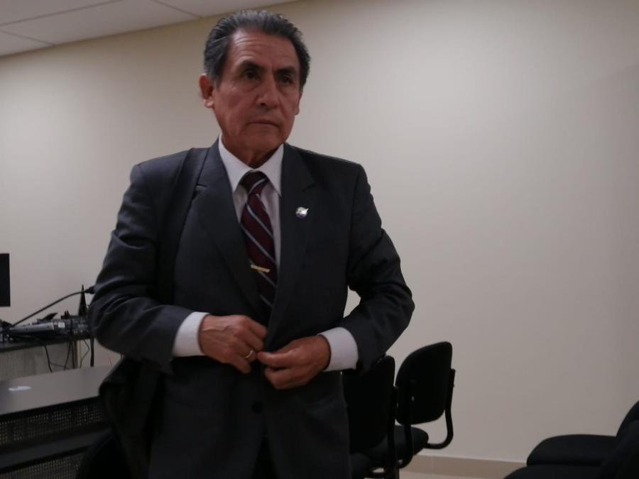 Exrector de la UNSA, Valdemar Medina Hoyos