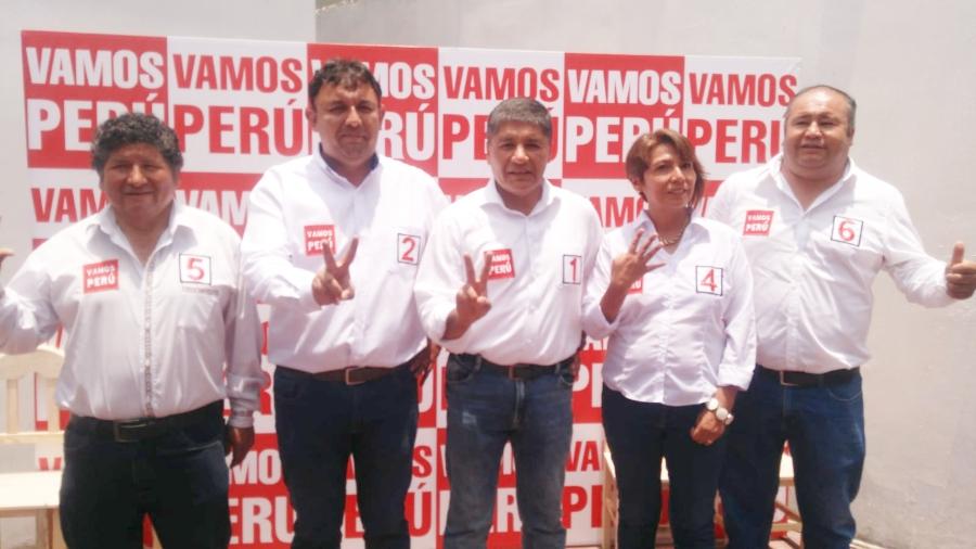 Elecciones 2020: candidatos por Vamos Perú
