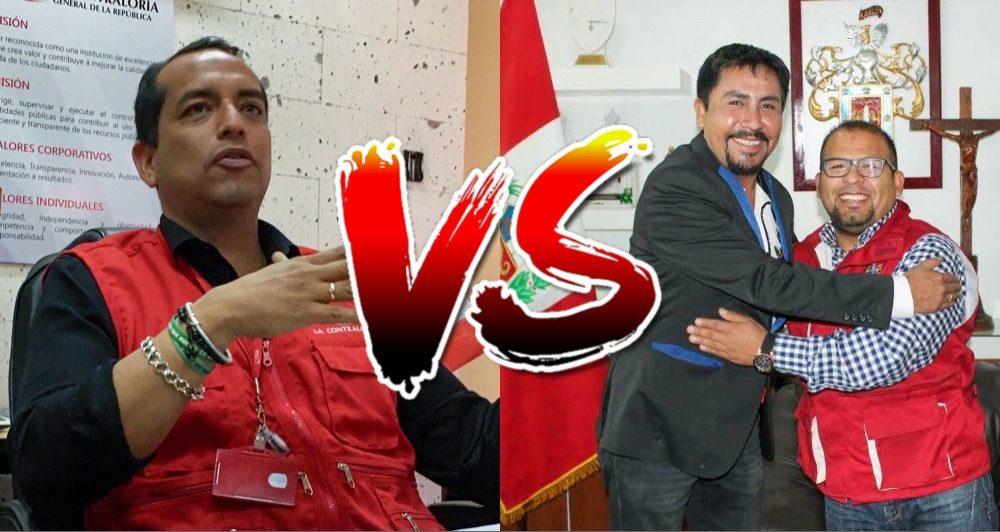 Arequipa Contraloría Elmer cáceres llica Omar Candia Aguilar gobernador y alcalde de arequipa