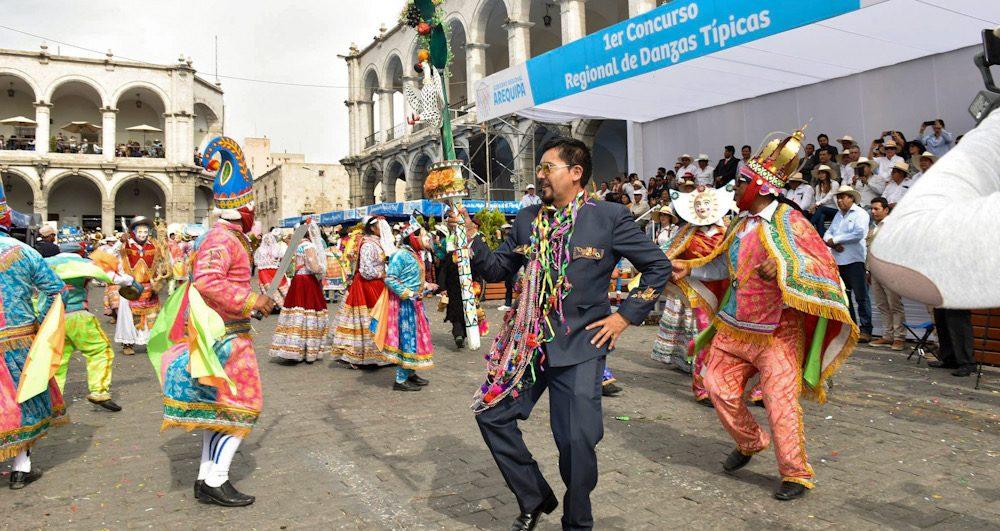 Arequipa consejo regional concurso regional de danzas gastos