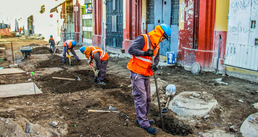 Arequipa obra jerusalen San Juan de Dios proveedor piedra laja consorcio Talamolle municipalidad provincial de arequipa