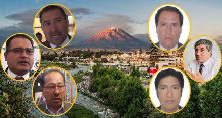 Alcaldes de Arequipa no gastan ni la mitad de presupuesto para obras