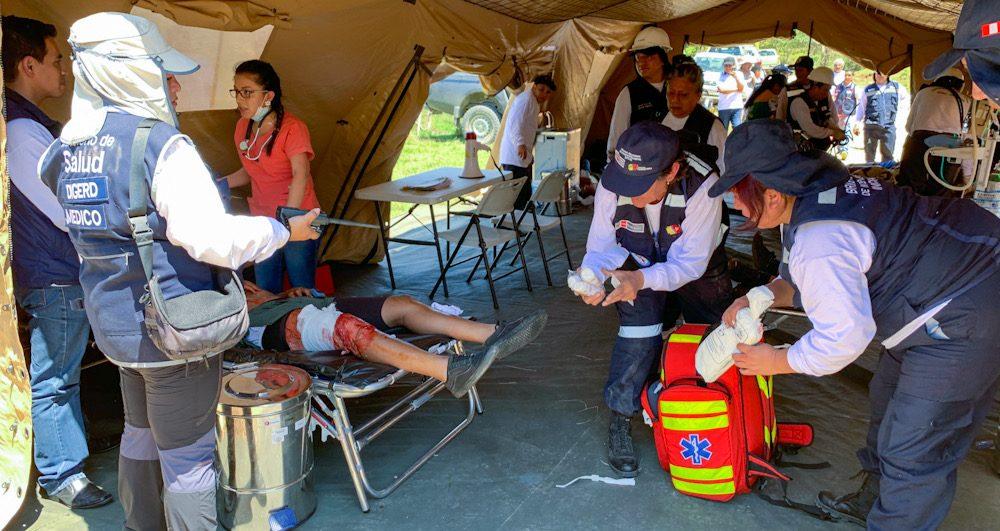 Arequipa hospital campaña Caravelí sin médicos