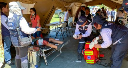 Hospital de campaña enviado a Caravelí no tiene médicos para atención