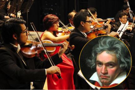 La Sinfónica de Arequipa interpretará la quinta sinfonía de Beethoven