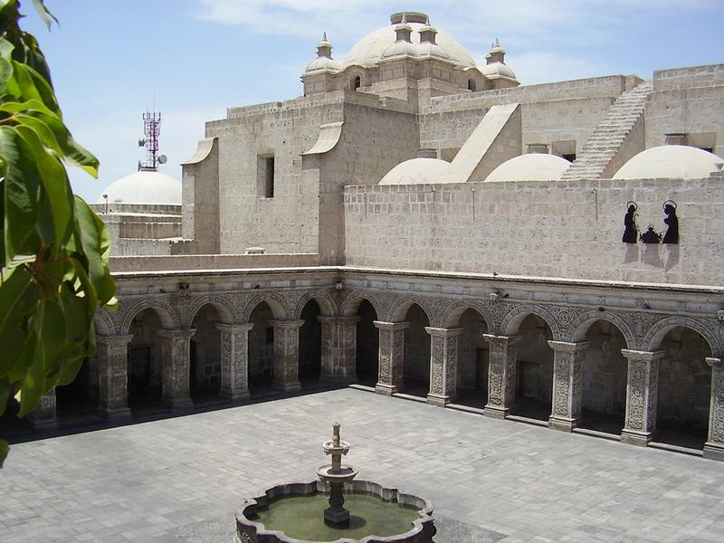 Arequipa: patrimonio cultural de la humanidad