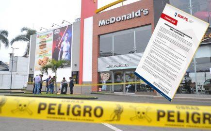 McDonald's: Sunafil detecta 6 graves infracciones y multaría franquicia con S/ 845 mil