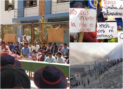 Incendian nuevamente bares en Secocha y dan 24 horas para salida de venezolanos