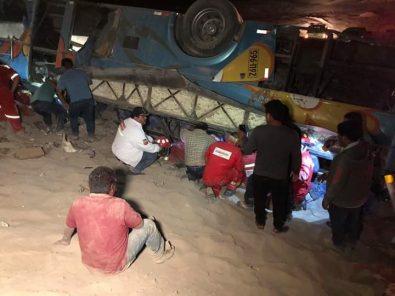 Camaná: Nueva tragedia en la Quebrada del Toro cobra 7 vidas de pasajeros