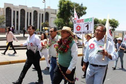 Marco Arana en Arequipa: liberación de Keiko fue pago por elección de magistrados