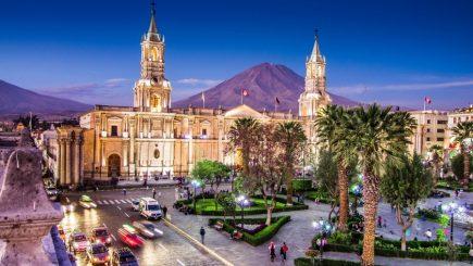 Arequipa considerada entre los 50 principales destinos del mundo
