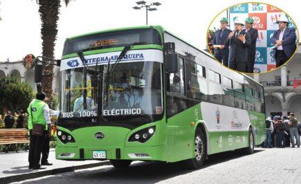 Arequipa: Bus eléctrico se une a flota del SIT para reducir contaminación