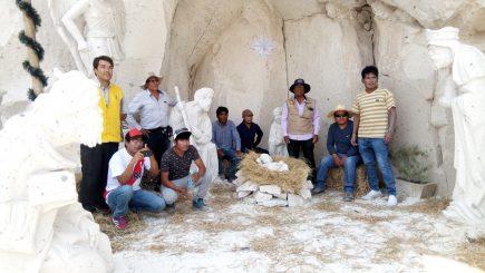 Arequipa: exhiben Nacimiento de Sillar en Cantera Añashuayco