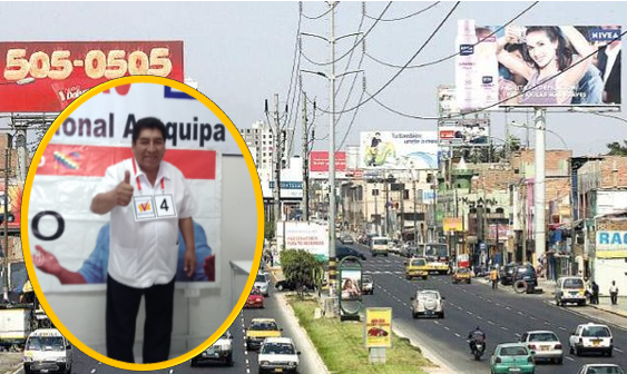 El candidato para las Elecciones 2020, Hipólito Chaiña del partido Unión por el Perú, denunció recibir amenzas contra su vida por la colocación de paneles.